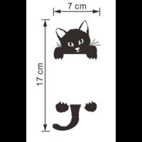 fekete cica matrica