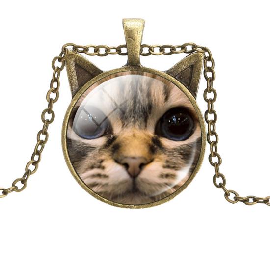 füles cicás nyaklánc