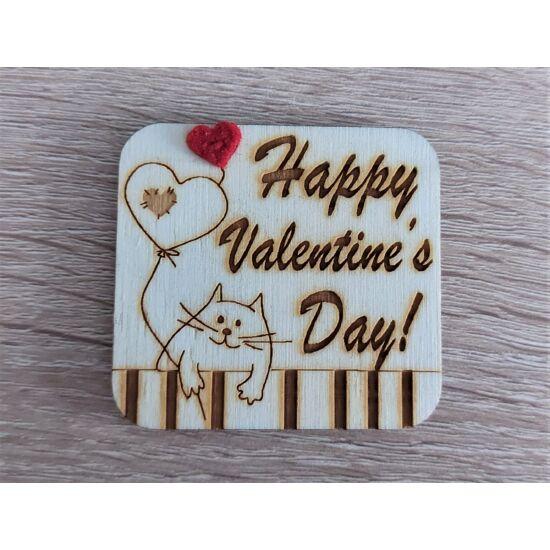 Happy Valentine's day hűtőmágnes