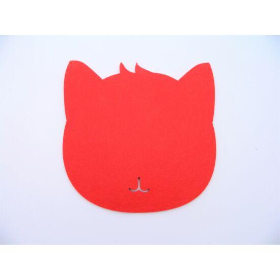 cicás egérpad piros